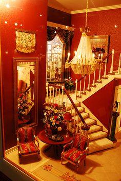 Bright Dollhouse Interior