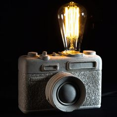 10XD Cement Lamp Camera | Unusual Gifts