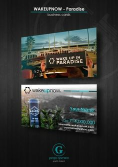 Wake up now black card business cards template print vemma business card template wakeupnow paradise colourmoves
