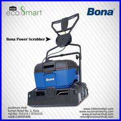 The Bona PowerScrubber is a compact, powerful scrubbing machine for cleaning varnished and oiled wooden floors.  KEY BENEFITS • Powerful and easy to manouvre • Extremely effective water pickup • Easy to fill, clean and transport • Indoor and outdoor use