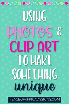 Creating your own covers, social media images and designs doesn't have to be boring - use clip art graphics to add a pop of pizazz to your designs! Clip Art, Social Media Images, Your Design, Graphics, Pop, Photography, Blogging, Popular, Photograph