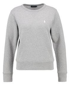 sweatshirt ralph lauren str M - grå eller sort Polo Ralph Lauren Sweatshirt, Flannel, Sweatshirts, Sweaters, How To Wear, Outfits, Fashion, Moda, Flannels