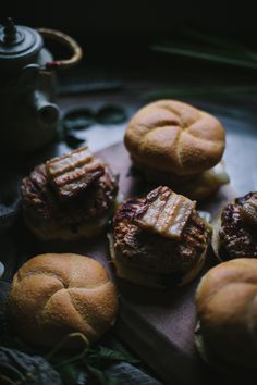 Thai-Style Pork Belly Burgers (via Bloglovin.com )