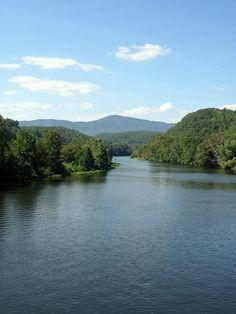 The Blue Ridge Mountains In Virginia!