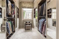 walk in wardrobe, size, window...