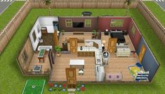 sims freeplay houses plans sim floor play layouts earth bedroom tones pool template apartment discover games galeone damien