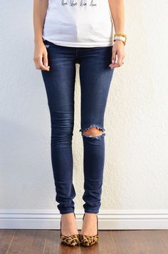 Merrick's Art // Style + Sewing for the Everyday Girl: DIY FRIDAY QUICK FIX: HEMMING JEANS (+ KEEPING THE ORIGINAL HEM)