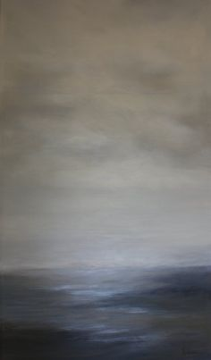 "OVERCOME 62""x36"" acrylic on canvas"