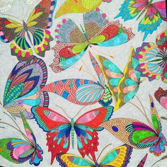 """""""Getting there - only about 10 more butterflies to go!!! #milliemarotta…"""