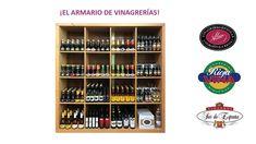 ¡Os presentamos una de nuestras joyas, el armario de Vinagrerías Riojanas, donde reside todo el sabor a través de nuestra histórica variedad de vinagres!   #Vinagre #Sabor #Sabores #Gourmet #Foodie #Regalooriginal #Cocina #Aliño #VinagreríasRiojanas Wine Rack, Calendar, Storage, Holiday Decor, Home Decor, Gourmet, Vinegar, Original Gifts, Closets