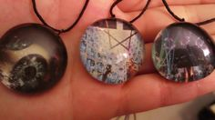Tool Glass necklaces by ParabolgirlsShop on Etsy, $8.00