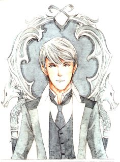 James Carstairs of The Infernal Devices by Cassandra Clare