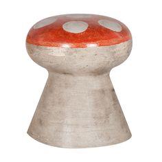 Vintage Stone Mushroom Stool