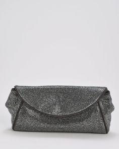 Product Name Dolce & Gabbana BNWT Genuine Suede Rhinestone Encrusted Clutch, 10/10 at Modnique.com