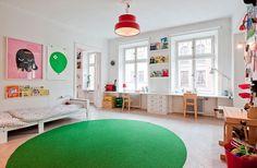 Unisex Modern Kids Bedroom Designs Ideas – Decorating Ideas - Home Decor Ideas and Tips Modern Kids Bedroom, Kids Bedroom Designs, Trendy Bedroom, Bedroom Ideas, Kid Spaces, Decor Room, Bedroom Decor, Kids Decor, Girl Room