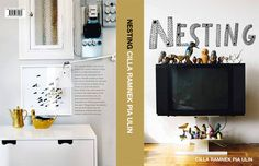 """Nesting is a new interiors book published in Sweden and calls itself, """"The Scandinavian version of The Selby"""