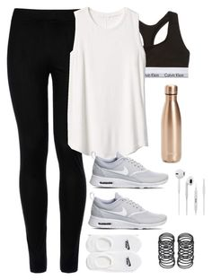 Designer Clothes, Shoes & Bags for Women Cute Workout Outfits, Cute Teen Outfits, Workout Attire, Womens Workout Outfits, Sporty Outfits, Casual Fall Outfits, Nike Outfits, Athletic Outfits, Teen Fashion Outfits