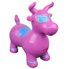 Benny The Jumping Bull Purple, $32, now featured on Fab.