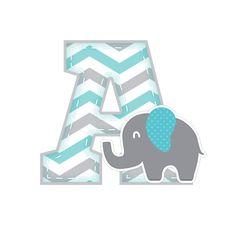Uau! Veja o que temos para A Alfabeto Festa Elefantinho Chevron Azul e Cinza Letras Baby Shower, Dibujos Baby Shower, Imprimibles Baby Shower, Baby Shower Clipart, Stork Baby Showers, Baby Shower Niño, Baby Clip Art, Baby Art, Baby Elefante