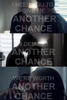 We're worth another chance.