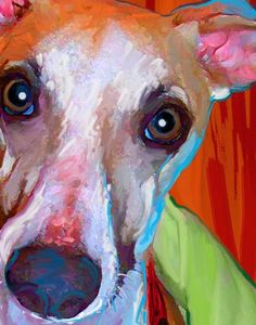 whippet--like our Rembrandt