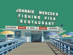 Johnnie Mercers Pier Wrightsville Beach NC