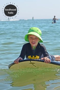 ce1d1b72d3e Bedhead s UPF50+ bucket swim hat in Lime. Our hats all have a chin strap  and. Baby Sun HatKids ...