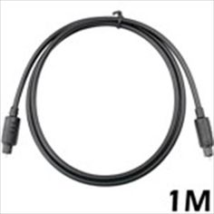 1m Black Toslink to Toslink Digital Audio Optical Cable 3.3 Feet