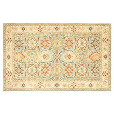Safavieh Heritage Bergen Framed Floral Wool Rug, Blue