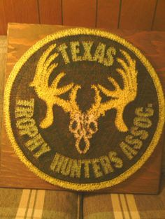 texas trophy hunters string art