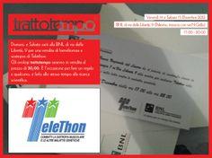 14-15 dicembre 2012 // BNL via Libertà, vendita di beneficenza a sostegno di Telethon. #orologio #trattotempo #fabriziopollaci #design #tempo
