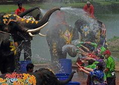 Songkran Water Festival: Thai New Year Celebration