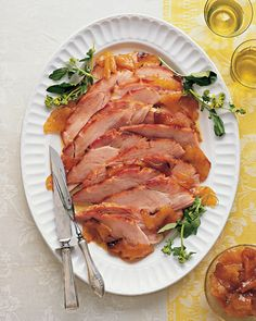The iconic Easter ham gets an enticing update with a new-fashioned glaze of country mustard and fresh pineapple. The roasted fruit tastes like candy and is irresistible. Along with the mustard, it creates a sweet yet savory glaze and sauce to complement every slice of ham.