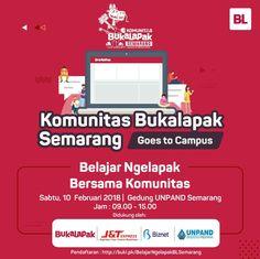 Silahkan yang mau ikut , terbatas ya  Kelas komunitas Bukalapak Semarang