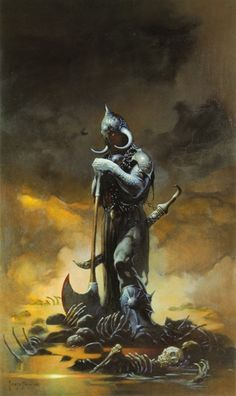 Death Dealer -3 | Frazetta