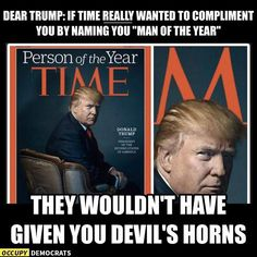 The best memes about the Russian hacking scandal, Trump's Cabinet of deplorables, and more.: Devil's Horns