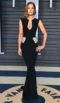 Oscars 2018 Afterparty Dresses and Preparty Dresses - Kate Beckinsale in Reem Acra