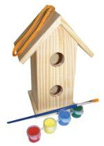 My Little Garden by Sassafras Paint Your Own Birdhouse
