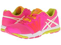 ASICS GEL-Craze™ TR Pink Glo/White/Sulfur - Zappos.com Free Shipping BOTH Ways