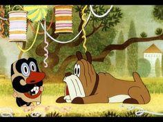 Zdeněk Miler was the multitalented creative artist, animator, and storyteller whose genius brought the adorable figure of The Little Mole – Krtek or Krteček . Mole, Vintage Children, Storytelling, Fairy Tales, Disney Characters, Fictional Characters, Carnival, Animation, Cartoon