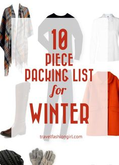 The Travel Essentials Packing List is one of our 8 Signature Capsule Wardrobes. Customize it for your destination. This one's perfect for cold weather!