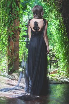 SINESTEZIC.COM | Black is always a good idea :) Silk long black dress | Silk long evening dress | Long elegant dress with tulle and lace | Maxi evening gown | Long elegant gown | Long embroidery dress | Maxi embroidery dress | Maxi black evening dress #sinestezic #SinestezicQueens #eveningdress #blackdress Black Evening Dresses, Evening Gowns, Formal Dresses, Elegant Gown, Midi Cocktail Dress, Gowns Of Elegance, Lace Maxi, Embroidery Dress, Long Black