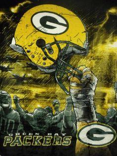 Green Bay Packers Royal Plush Raschel NFL Large Blanket x Bears Packers, Packers Baby, Go Packers, Packers Football, Football Memes, Manning Football, Peyton Manning, Football Team, Green Bay Packers Logo