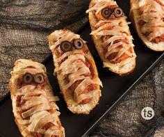 Mummy Meatball Sandwiches │Tastefully Simple │Ghoulish Gala menu