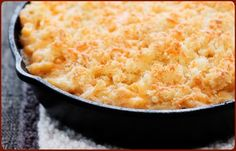Smoky Triple Cheese Mac 'N Cheese - Traeger Grill Recipes~~Good recipe...next time I will use less pasta so there will be more sauce. Made 2/2/14 RG