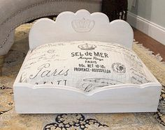 Crown Royal Dog Bed: A royal showcase day bed for your pampered pet.
