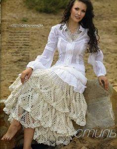 BethSteiner: Dezembro 2008 (Crocheted Skirt)...WOW...
