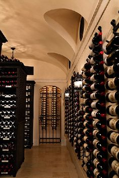 Sotheby's have announced the forthcoming sale of fine and rare wines from the cellar of James H. Clark, the Texas technology entrepreneur and philanthropist. Rare Wine, Home Wine Cellars, Wine Auctions, Wine Collection, Whisky, Wines, Stairs, Entrepreneur, Texas
