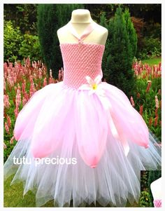 tutu precious design and create beautiful dresses for your little princess. Choose from one of my designs or get in touch with your own idea for the perfect gown for your little girl. Perfect for parties, playtimes or presents. Little Girl Tutu, Little Girl Dresses, Girls Dresses, Little Princess, Tutu Outfits, Girl Outfits, Lace Flower Girls, Flower Girl Dresses, Ariel Pink Dress