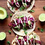 Instant Pot or Slow Cooker Korean Beef Tacos - 365 Days of Slow Cooking and Pressure Cooking Korean Beef Tacos, Korean Beef Recipes, Slow Cooker Korean Beef, Korean Beef Bowl, Beef Recipes For Dinner, Korean Diet, Uncooked Tortillas, Flour Tortillas, Cross Rib Roast